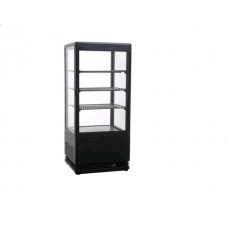 Витрина холодильная черная Beckers VRN 78