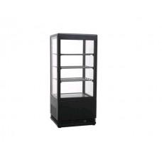Витрина холодильная черного цвета VRN78 LUX
