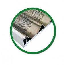 Противень алюминиевый для багетов 600х800мм без рамок Italbakery
